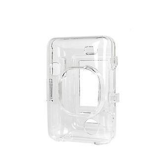 Przezroczysta obudowa kryształowa obudowa pc do fujifilm instax mini liplay kryształowa obudowa z liną wyposażoną w skorupę