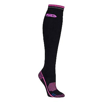 Ladies Knee High Wool Wellington Boot Socks