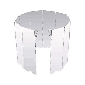 Pantalla de viento de estufa de cocina de picnic