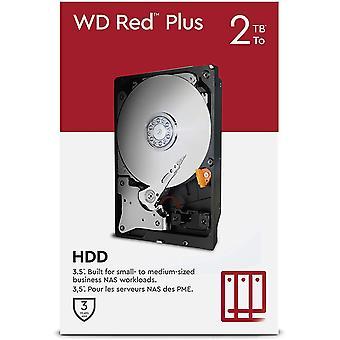 """Wokex WD Red Plus 2 TB NAS 3.5"""" Interne Festplatte 5.400 RPM Class, SATA 6 Gbit/s, CMR, 64 MB"""
