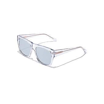 Hawkers DOUMU Sunglasses, Transparent, Unisex-Adult One Size