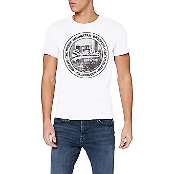 Superdry VL NYC Photo Tee Camiseta, Óptica, L Man
