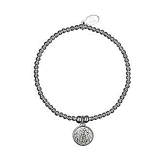 Crown Chakra / Sahasrara Chakra Bracelet - 17.5cm - Argent - Bijoux Cadeaux pour femmes de Lu Bella