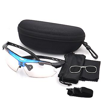 Color Changing Cycling Glasses Mountain Biking Goggles Fishing Glasses Sunglasses