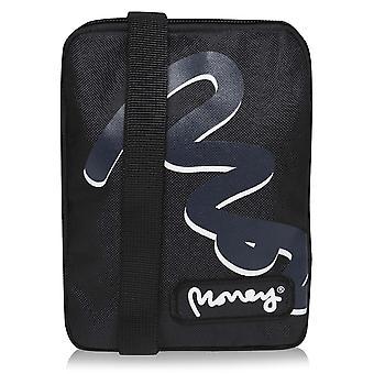 Unisex Money Travel Shoulder Bag Lightweight Adjustable Strap Zip Printed
