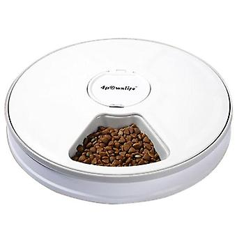 Stainless Steel  Plug Automatic Pet Feeders With Voice Record