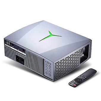 Przenośny wyświetlacz LCD, projektor LED, Full HD, film, wideo, 3d Beamer z pilotem