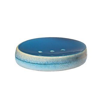 Sass & Belle Mojave Glasur Blå Sæbeskål