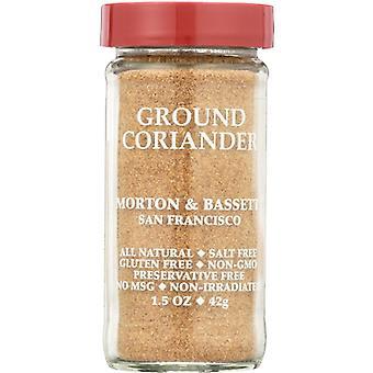 Morton & Bassett Coriander Grnd, Case of 3 X 1.5 Oz