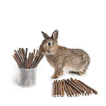 1 Pack Pet Natural Molar Bite Rod Rabbit Hamster Branch Willow