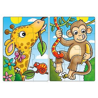 ألعاب البستان أول أصدقاء الغابة