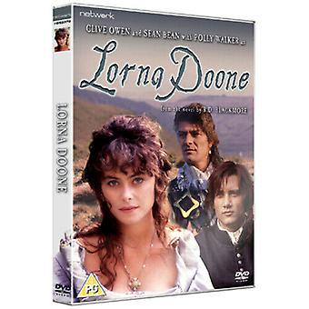 Lorna Doone DVD (2010) Sean Bean Grieve (DIR) cert PG Região 2