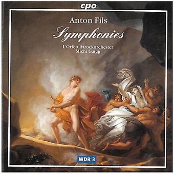 A. fils-Fils: Symfonier [CD] USA import