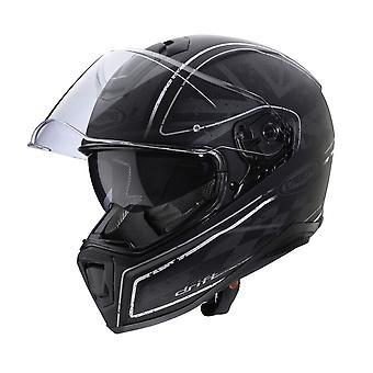 Caberg Drift Armour Full Face Motorcykelhjälm Svart/Silver
