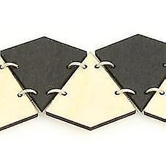 Diamond-cut Bracelet 7515c(As Pictured)