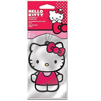 Hello Kitty Jordbær Air Freshener 2-Pakk