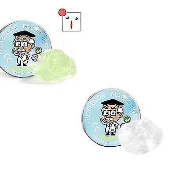 2 pakkausta nestemäistä lasimutaa, läpinäkyvää kittiä, pehmeä kristalli ooze lelu lapsille ja
