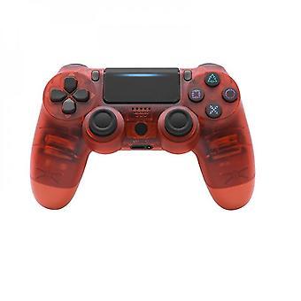 Controlador sem fio Dualshock 4 para Playstation 4 Ps4 Wireless Gamepad Crystal Red