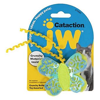 JW Pet Cataction Crunchy Butterfly Cat Toy  - 1 count