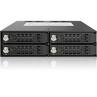 """ICY DOCK ToughArmor 4 x 2,5 """"SATA/SAS-HDD/SSD-Racks Tastensperre"""