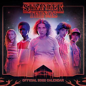 Stranger Things Kalender 2022  Offizieller Kalender 2022, 12 Monate, original englische Ausf³hrung.