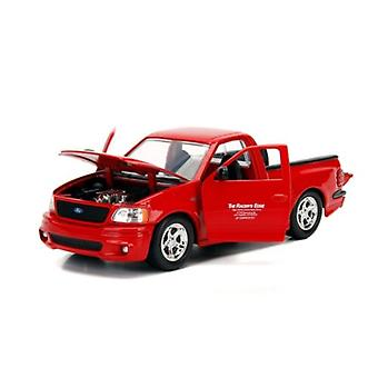 Fast and Furious Brians Ford F-150 SVT Lightning Red Scale 1:24 Jada 99574