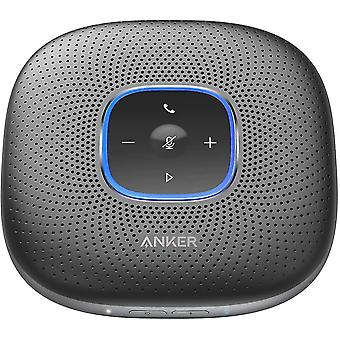 Speakers anker powerconf bluetooth conference speaker with 6 integrated microphones  improved recording  24