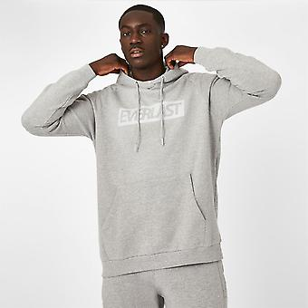 Everlast Mens Overhead Logo Hoodie Hooded 100% Cotton Sports Casual Top