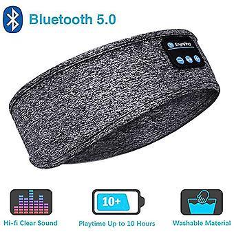 bt sovende hodetelefoner sport hodebånd myk elastisk behagelig øyemaske for sovende
