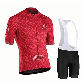 Cycling Jersey Sets Summer Men Cycling Clothes Short Sleeve Quick-dry Mtb Bike Suit Bicycle Clothes Ropa Ciclismo Hombre