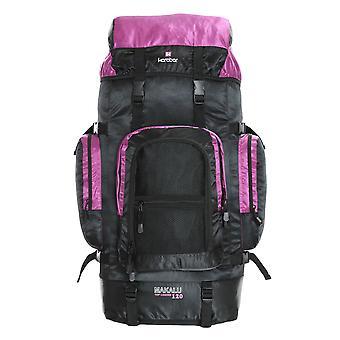 Karabar Makalu 120 Litres Travel Backpack, Black/Pink
