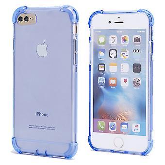 32dre tøff bærevesken + pekepennen for Apple iPhone 7 / iPhone 8 - Deep Blue
