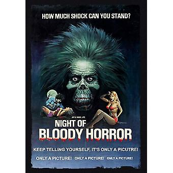 Night of Bloody Horror [DVD] USA import