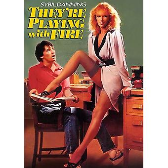 They're Playing with Fire (1984) [DVD] USA import