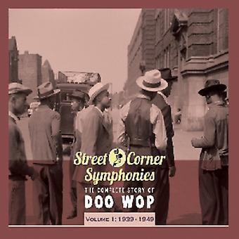 Kadun kulmassa sinfoniat - Vol. 1 Street Corner sinfoniat 1939-49 [CD] Yhdysvallat tuoda