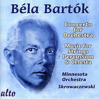 K Bart - Bart K: Concierto para orquesta; Música para cuerdas, percusión y Celesta [CD] USA importar