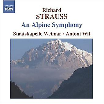 R. Strauss - Richard Strauss: An Alpine symfoni [CD] USA import