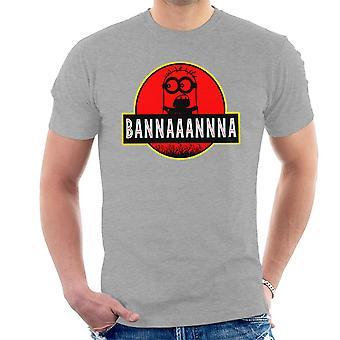 Minions Jurassic Park banaan mannen T-Shirt