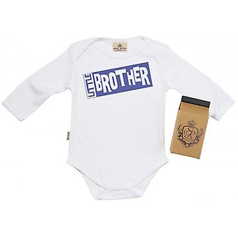 Spoilt Rotten Little Brother Babygrow 100% Organic Cotton