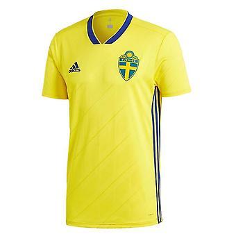 2018-2019 Švédsko domovské tričko