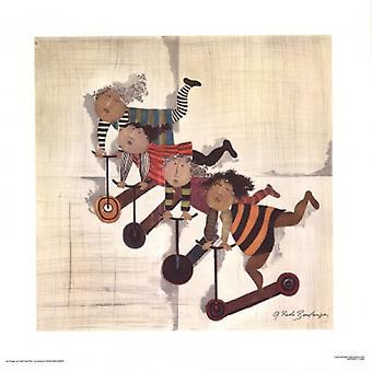 Les Trab Inettes Poster Print von Graciela Rodo Boulanger (25 x 25)