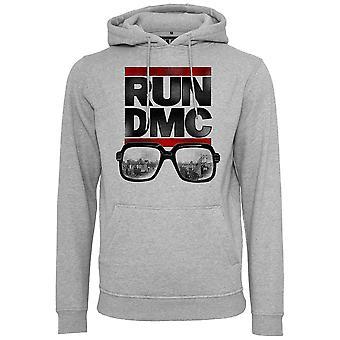 Merchcode X artistas - RUN DMC cidade óculos Hoody cinza