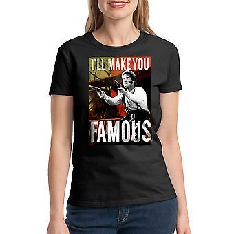 Young Guns Famous Women's Black T-shirt