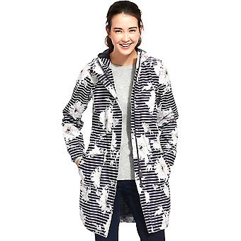 Joule donna/Womens Raina impermeabile Polycotton Parka giacca cappotto