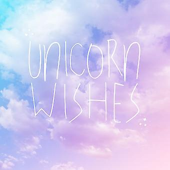 Unicorn Wishes Poster Print by Ashley Hutchins