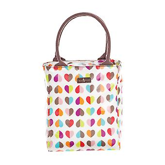 Beau & Elliot Confetti Heart Insulated Lunch Tote Bag