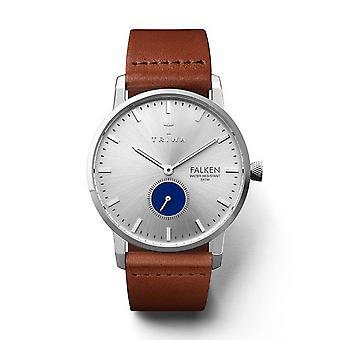 Triwa Unisex Watch wristwatch FAST111-CL010212 blue eye Hawk leather