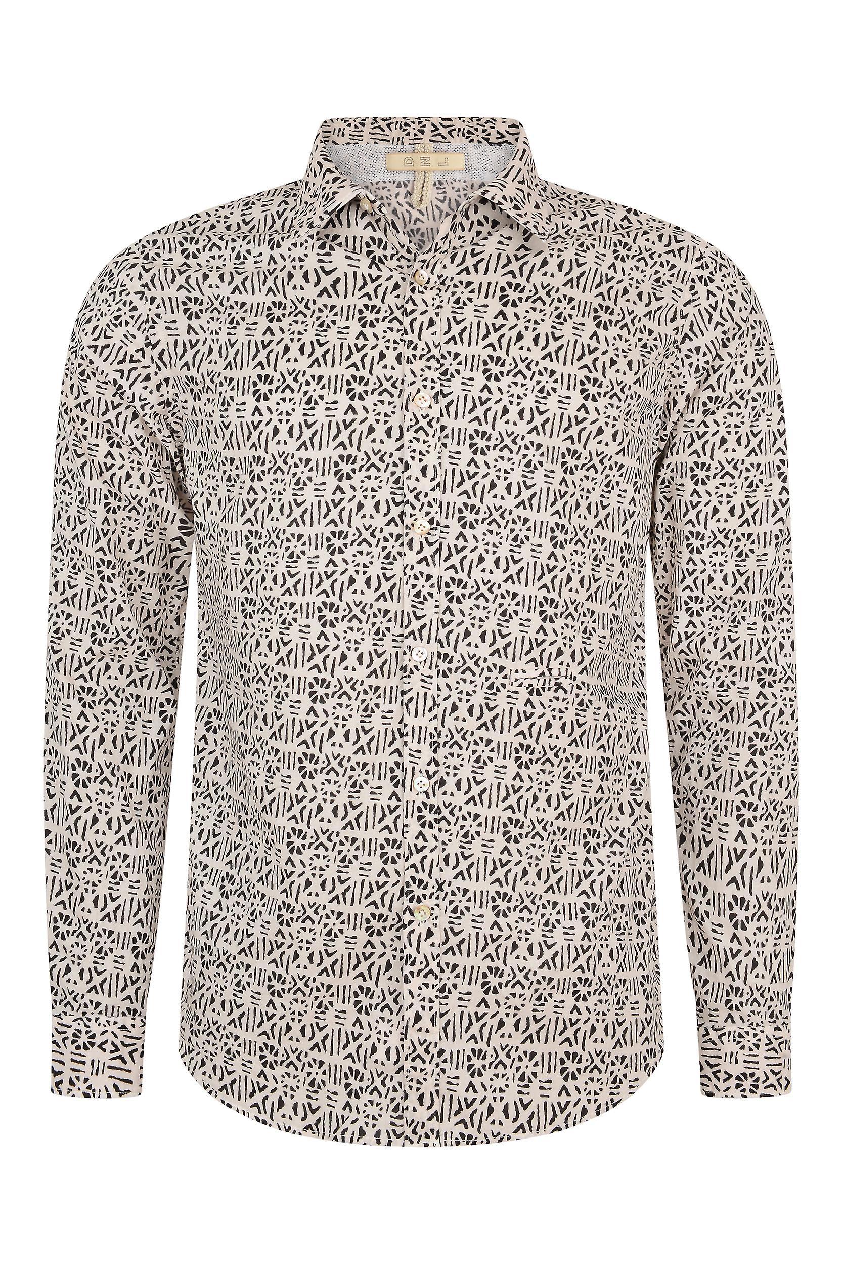 Fabio Giovanni Salentina Shirt - Mens Italian Casual Stylish Shirt 100% Cotton - Long Sleeve