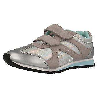 Girls Cica by Clarks Trainers Super Gleam