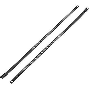 KSS ASTN-255 ASTN-255 Cable tie 255 mm 7 mm Black Coated 1 pc(s)